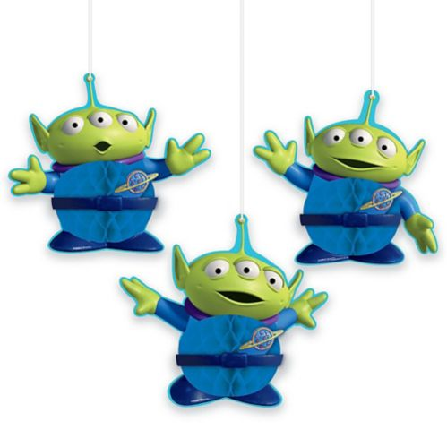 Toy Story 4 Honeycomb Decorations, 3-pcs