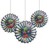 Marvel Powers Unite Paper Fan Decorations, 3-pcs