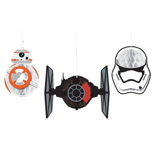 Boules alvéolées Star Wars 7 Le Réveil de la Force, paq. 3
