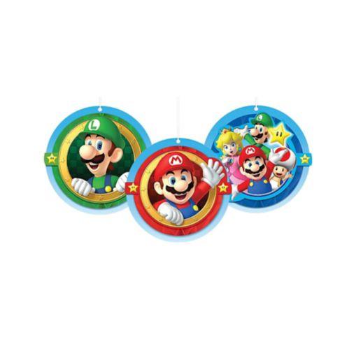 Super Mario Honeycomb Balls, 3-pcs