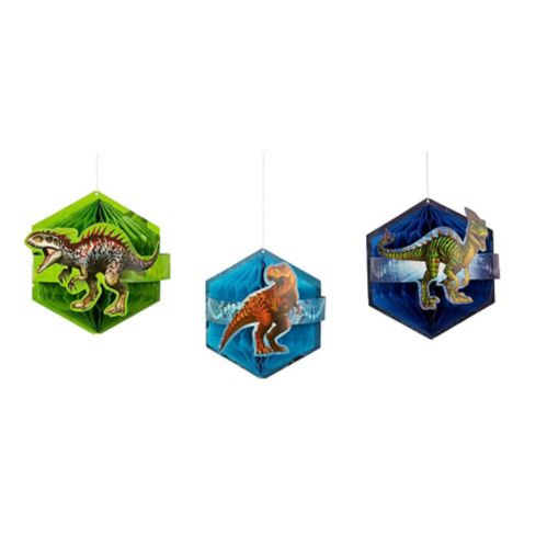 Jurassic World Honeycomb Balls, 3-pcs