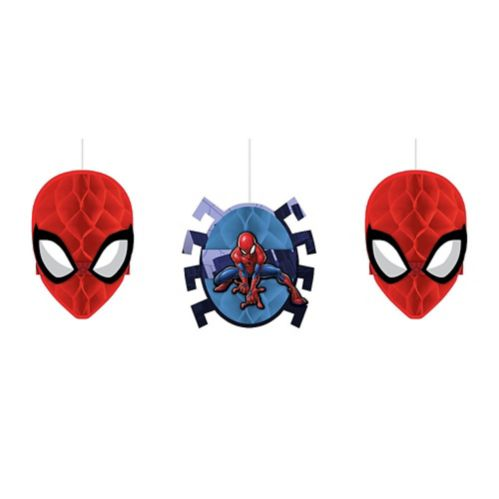 Spider-Man Webbed Wonder Honeycomb Balls, 3-pcs