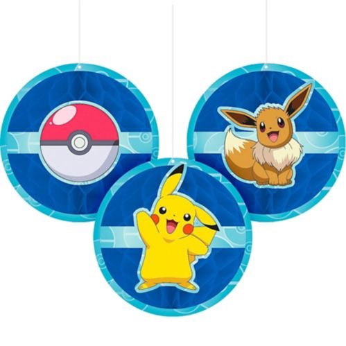 Classic Pokémon Honeycomb Decoration