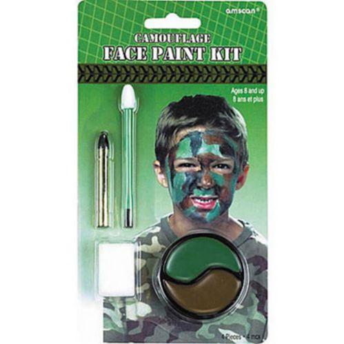 Peinture pour le visage Camouflage