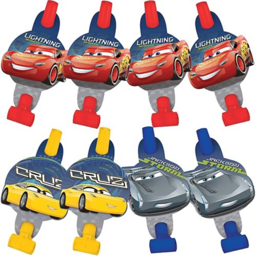 Cars 3 Blowouts, 8-pcs