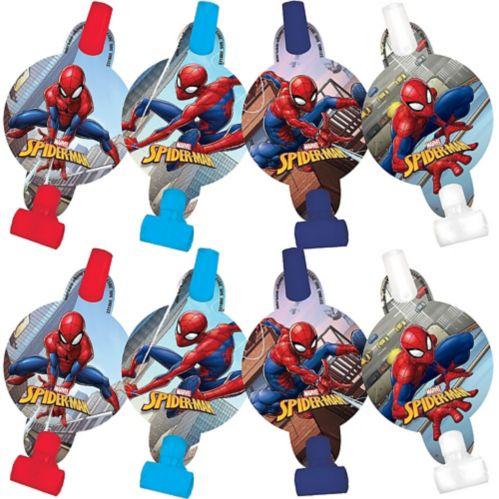 Mirlitons Spiderman Webbed Wonder, paq. 8