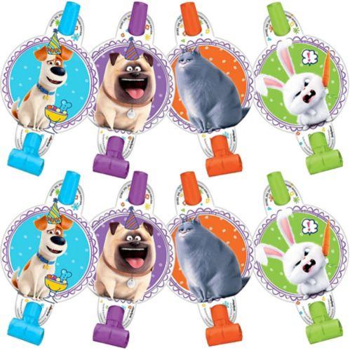 Secret Life of Pets 2 Blowouts, 8-pk