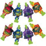Rise of the Teenage Mutant Ninja Turtles Blowouts, 8-pcs
