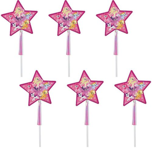 Friendship Adventures My Little Pony Wands, 6-pk