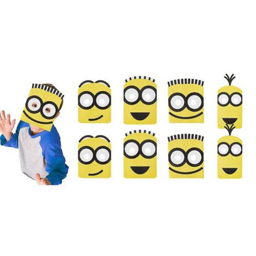 Minions Masks, 8-pk