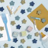 Glitter Star Table Scatters, 32-pcs
