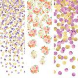 Confettis Bébé floral