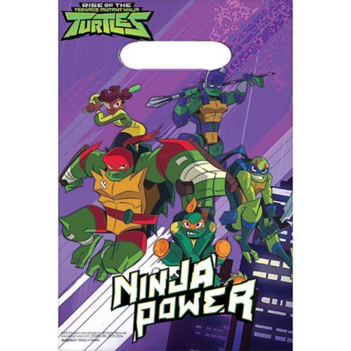 Rise of the Teenage Mutant Ninja Turtles Favour Bags, 8-pk