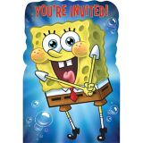 SpongeBob Invitations, 8-pk | Amscannull