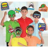 Epic Party Photo Booth Props, 13-pcs