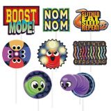 Slither.io Photo Booth Props, 13-pcs