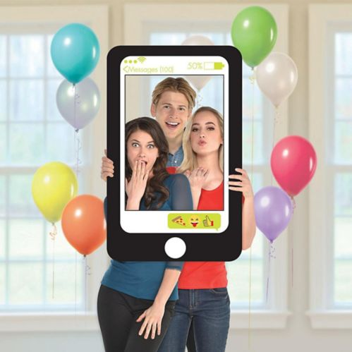 Giant Cell Phone Photo Frame