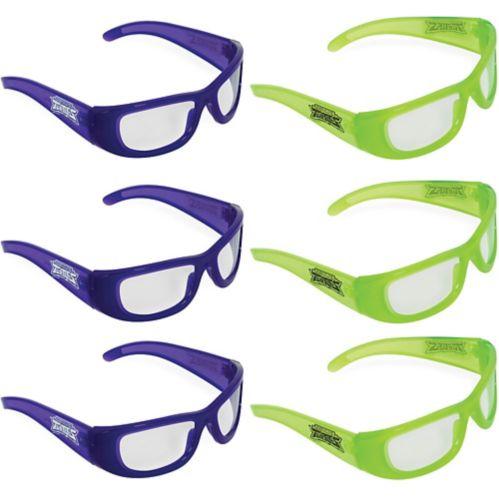 Rise of the Teenage Mutant Ninja Turtles Glasses, 6-pk