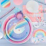 Magical Rainbow Rings, 4-pk | Amscannull