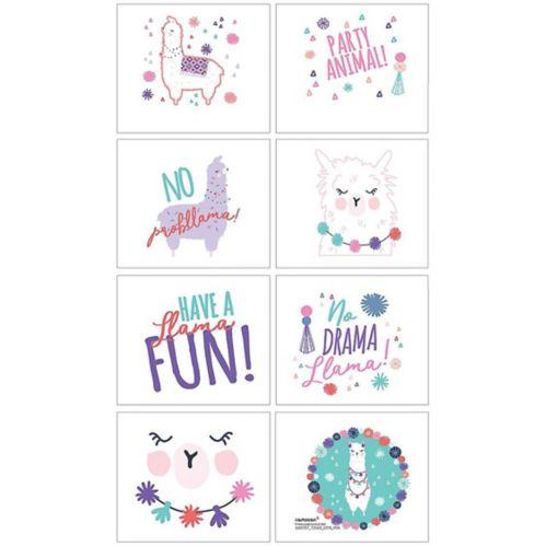 Llama Fun Tattoos