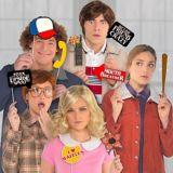 Stranger Things Photo Booth Props, 13-pcs