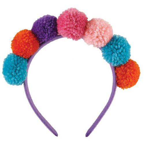 Llama Fun Pom-Pom Headband