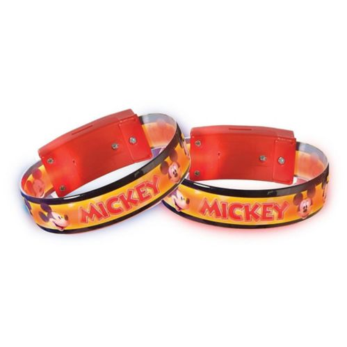 Bracelets lumineux Mickey Mouse Forever, paq. 4