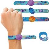 Birthday Baller Slap Bracelets 4-pk | Amscannull