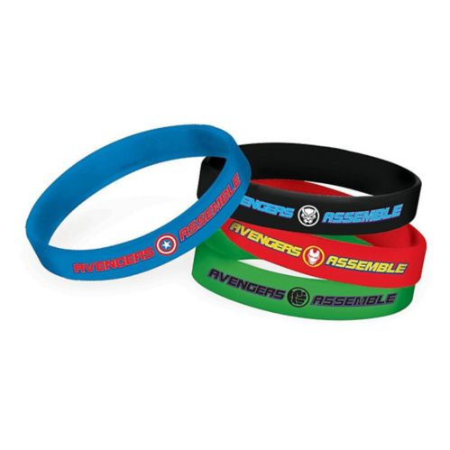 Bracelets Marvel Powers Unite, paq. 4