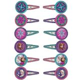 Frozen Hair Clips, 12-pk | Amscannull