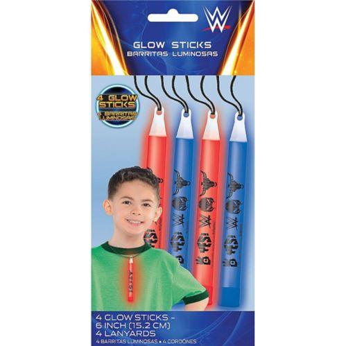 WWE Glow Sticks, 4-pk