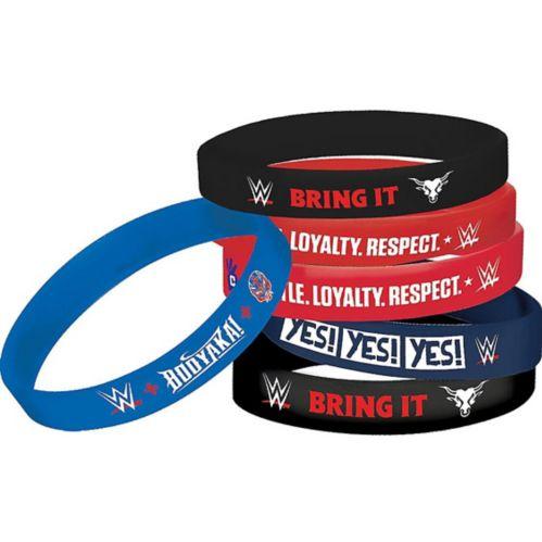 Bracelets WWE, paq. 6