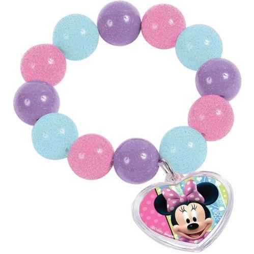 Minnie Mouse Bead Bracelet