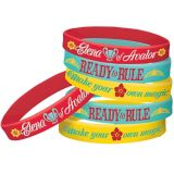 Elena of Avalor Wristbands, 6-pk | Amscannull