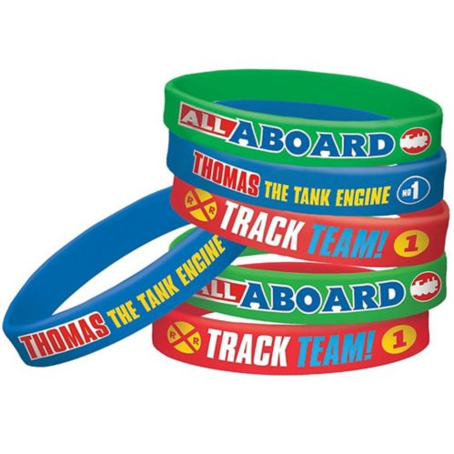 Thomas the Tank Engine Wristbands, 6-pk