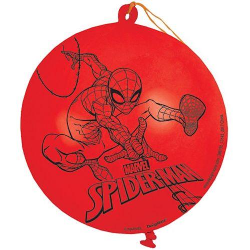 Ballons à frapper Spiderman et Wonder Woman