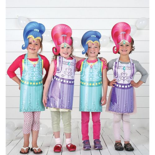 Shimmer and Shine Party Wearables Kit, 16-pc