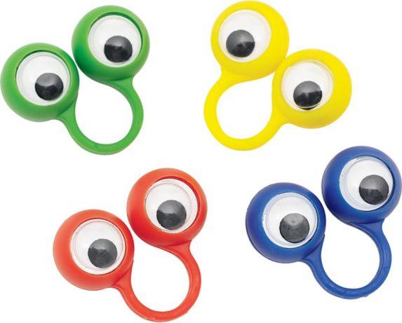 Google Eye Rings, 48-pk