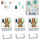 Can Bearly Wait Baby Shower Treat Table Decorating Kit, 23-pcs