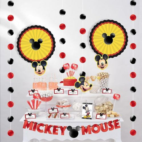 Mickey Mouse Forever Buffet Decorating Kit, 23-pcs