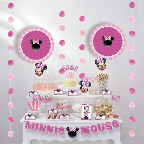 Minnie Mouse Forever Buffet Decorating Kit, 23-pcs