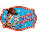 Toy Story 4 Invitations, 8-pk | Disneynull
