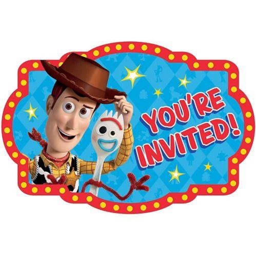 Toy Story 4 Invitations, 8-pk