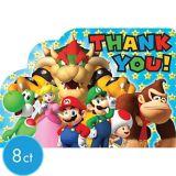Super Mario Thank You Notes, 8-pk | Nintendonull