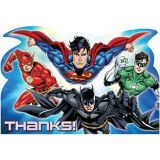 Justice League Thank You Notes, 8-pk | WARNER BROSnull