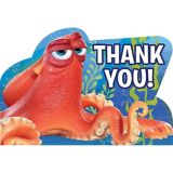 Finding Dory Thank You Notes, 8-pk | Amscannull