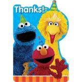 Sesame Street Thank You Notes, 8-pk