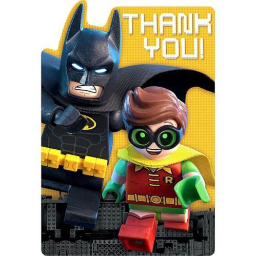 Lego Batman Movie Thank You Notes, 8-pk