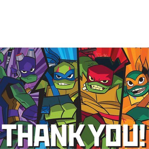 Rise of the Teenage Mutant Ninja Turtles Thank You Notes, 8-pk