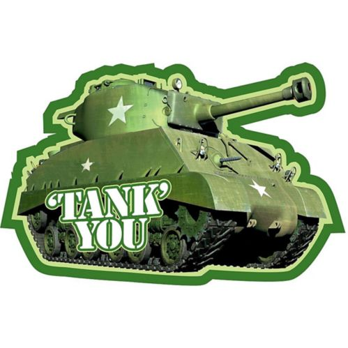 Camouflage Thank You Notes, 8-pk Product image